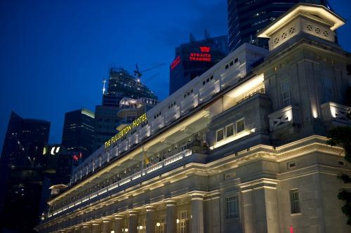 The Fullerton Building in Singapore