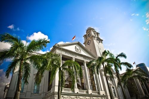 Singapore's Victoria Concert Hall and Theatre