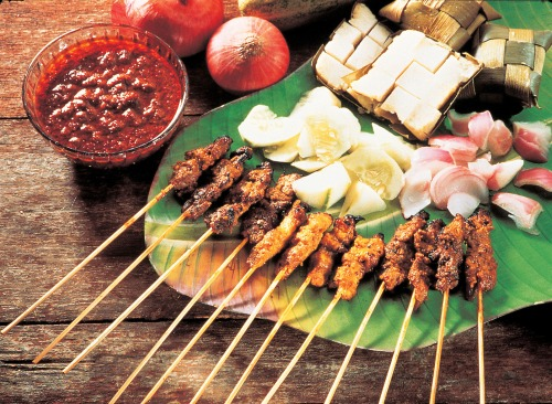 Not Kebabs, but Singaporean Satay!