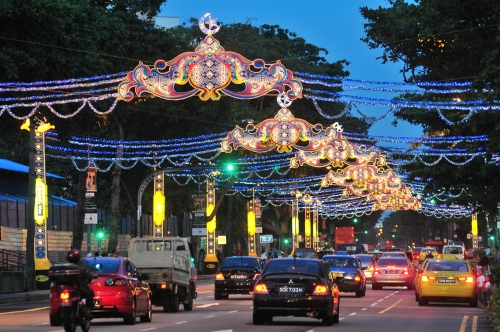 Hari Raya city lights
