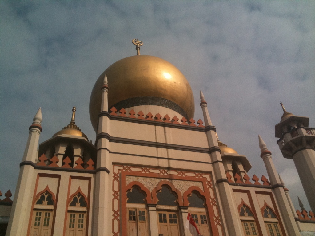 Sultan Mosque at Kampong Glam of Singapore