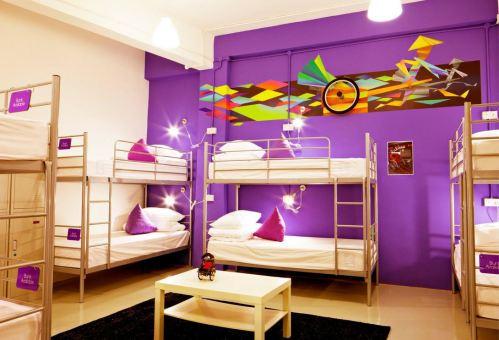 Five Stones Hostel Singapore Beds