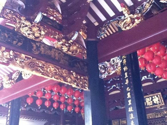 No Nails used in building the Thian Hock Kheng Temple at Singapore's Chinatown