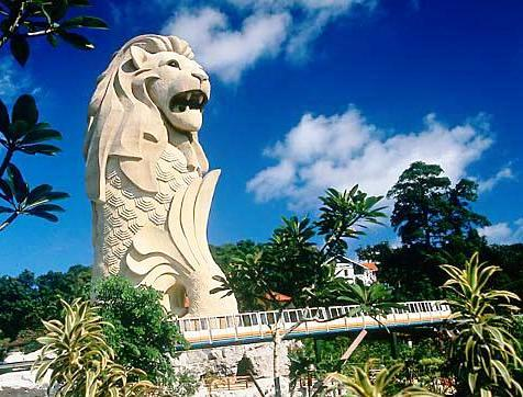 Sentosa Island of Singapore