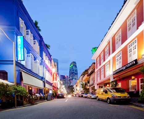 Matchbox Hostel at Ann Siang Road
