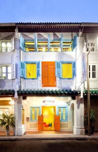 Matchbox Hostel's Front