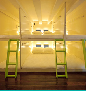 Matchbox Hostel's Pod Bed - clean, cozy, comfortable
