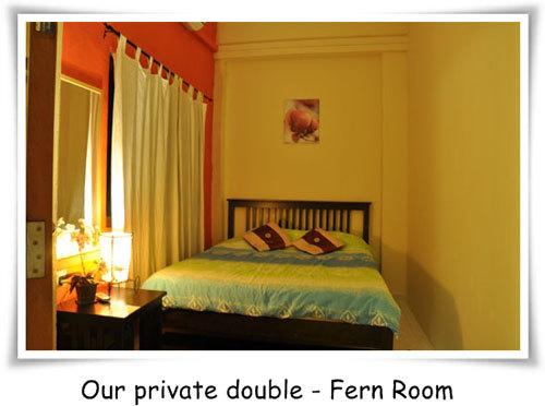 Fernloft Hostel's private Fern Room