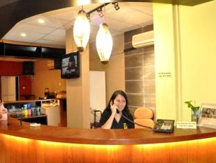 Fernloft Hostel's Reception Counter - Buy tickets to Singapore's best and top tourist attractions here.