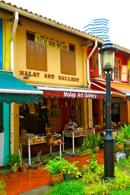 Malay art at Kampong Glam