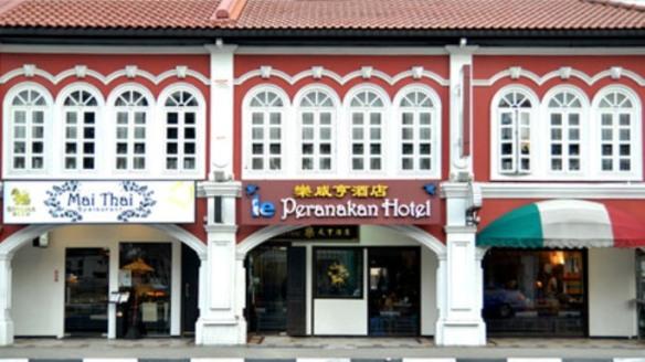 Le Peranakan Hotel Front