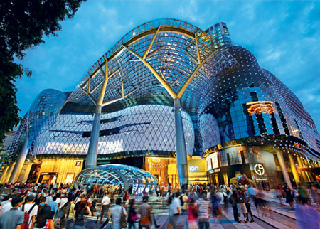 Orchard Road - Singapore's most popular shopping street