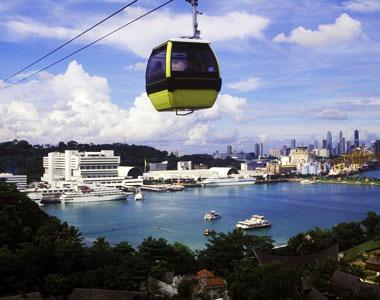 Singapore Sentosa Cable Car