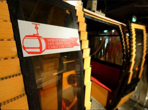 Singapore Sentosa lego Cable Car