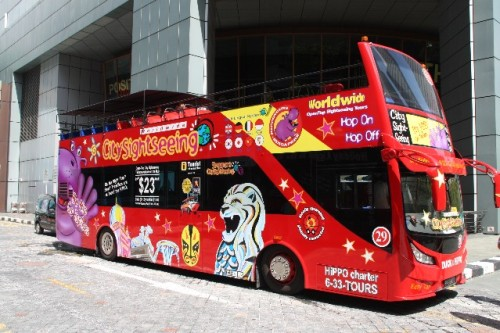 hippo bus city sightseeing singapore
