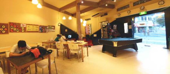 Hive Backpackers Hostel Singapore Lounge