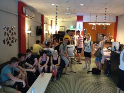 Society Backpackers' Hotel Singapore Reception