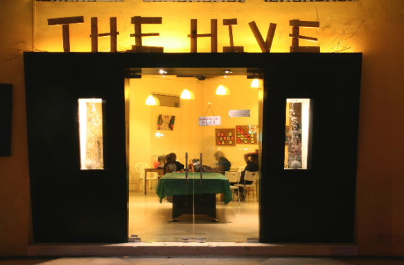 The Hive Backpackers Hostel Singapore Facade